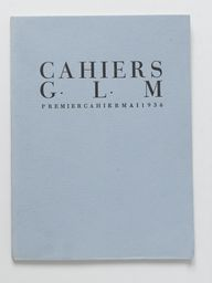 Cahiers G. L. M.